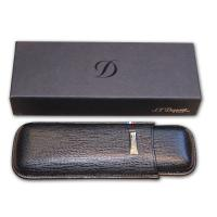 ST Dupont Cigar Leather case – up to 52 ring gauge size – fits 2 cigars